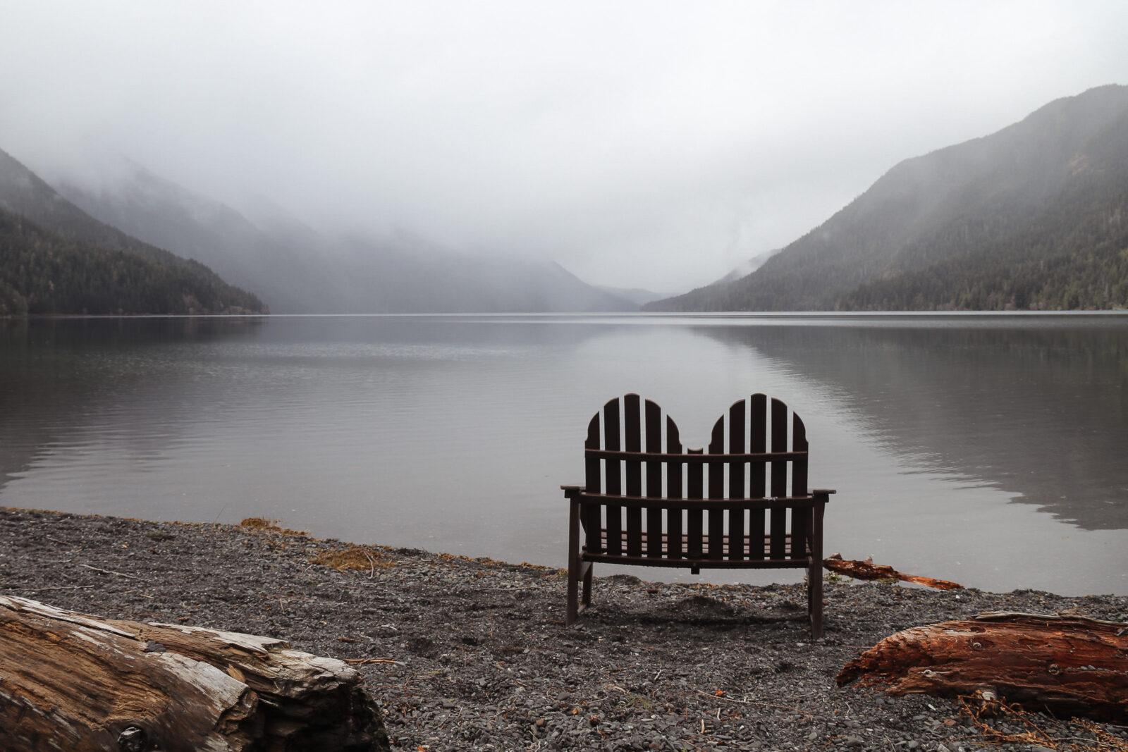 Lake Crescent views
