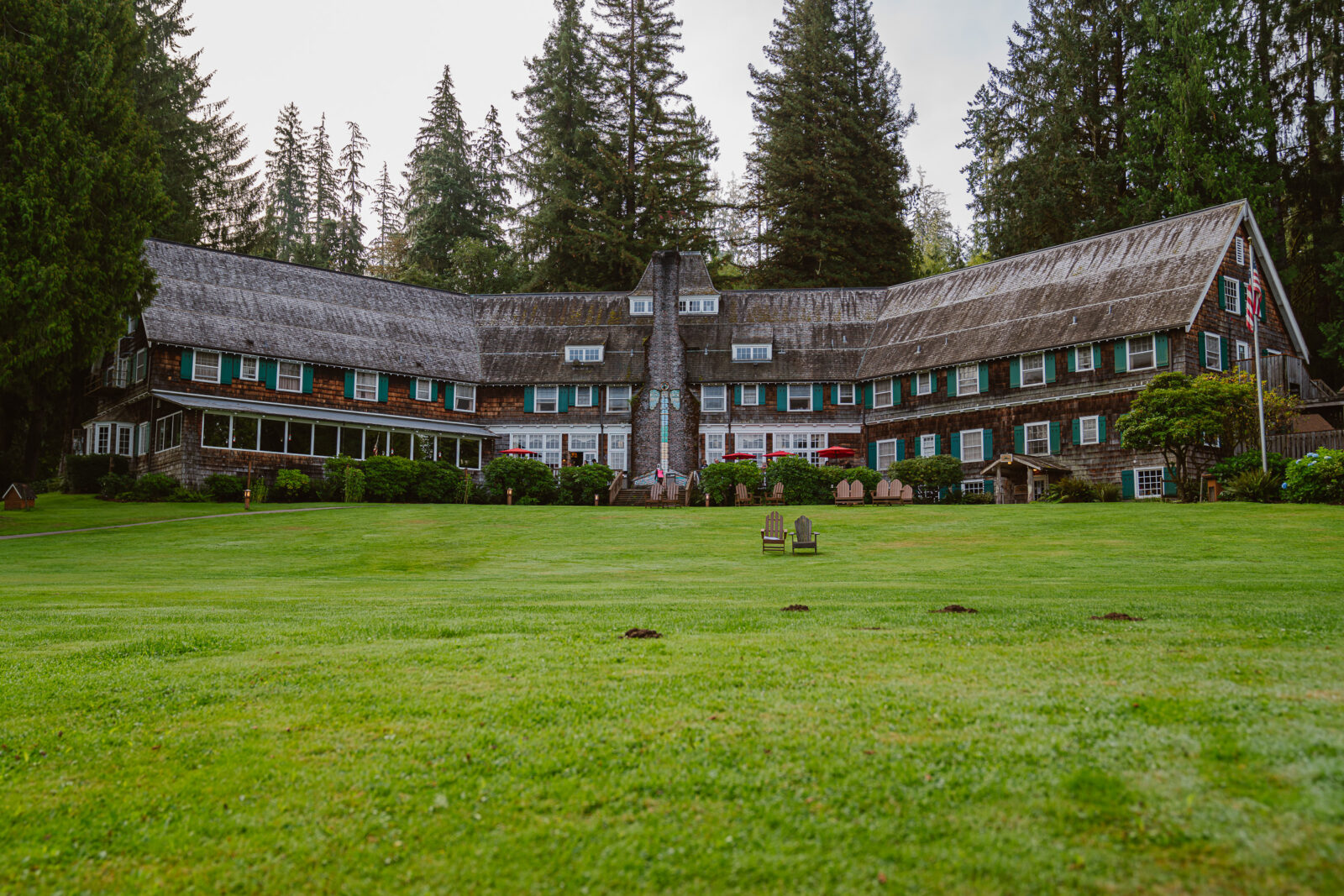 Lake Quinault Lodge in Olympic National Park